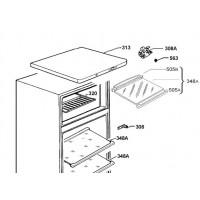 Крышка корпуса холодильника Electrolux 2276231491
