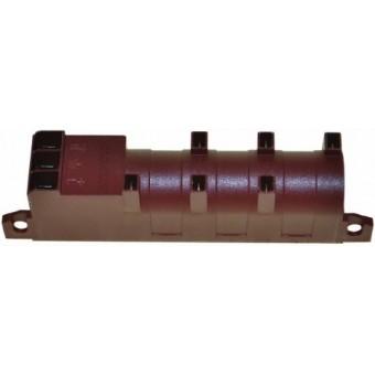 Блок розжига на 6 свечей для плит ARISTON INDESIT C00031720