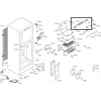 Модуль управления для холодильников BOSCH 00701426